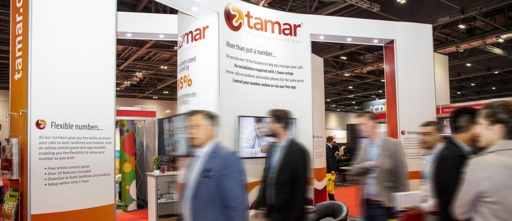 The Business Show ExCel Tamar Telecom