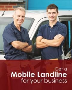 Mobile Landlines for Trades