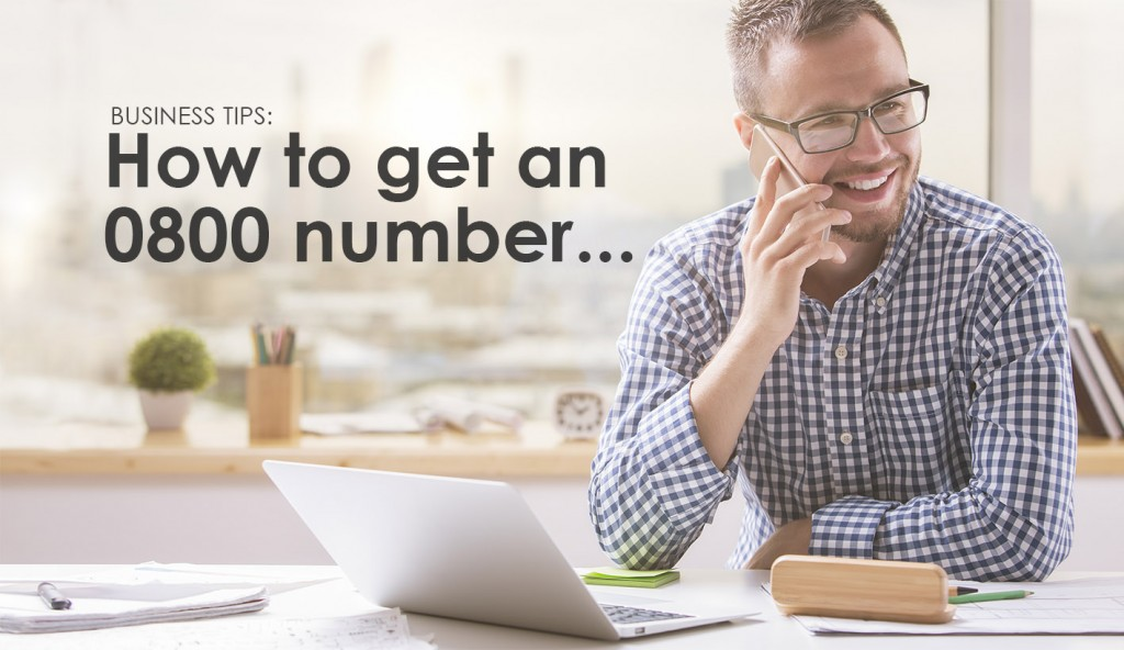 How to get an 0800 Number