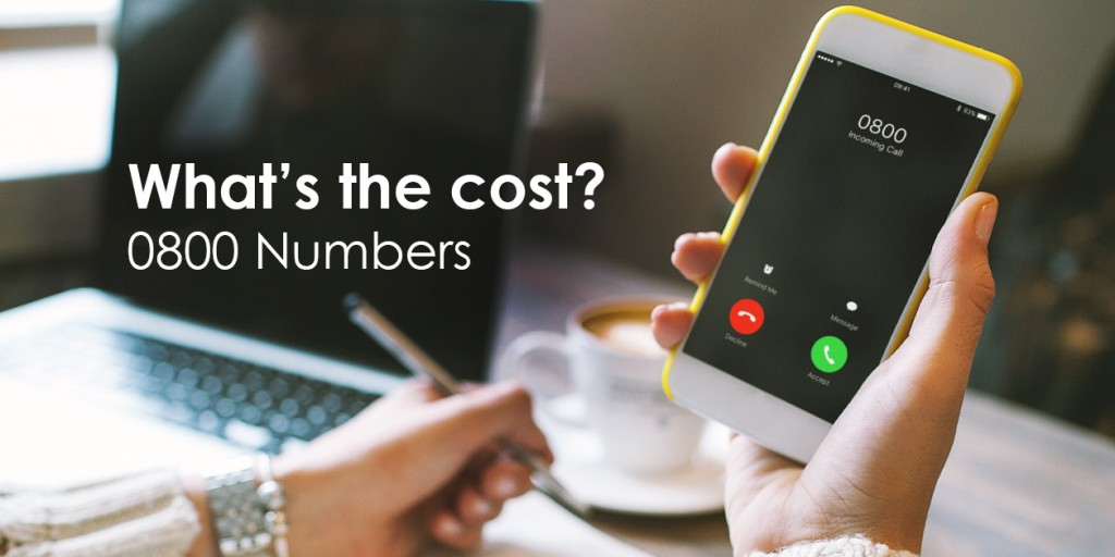Cost to call 0800