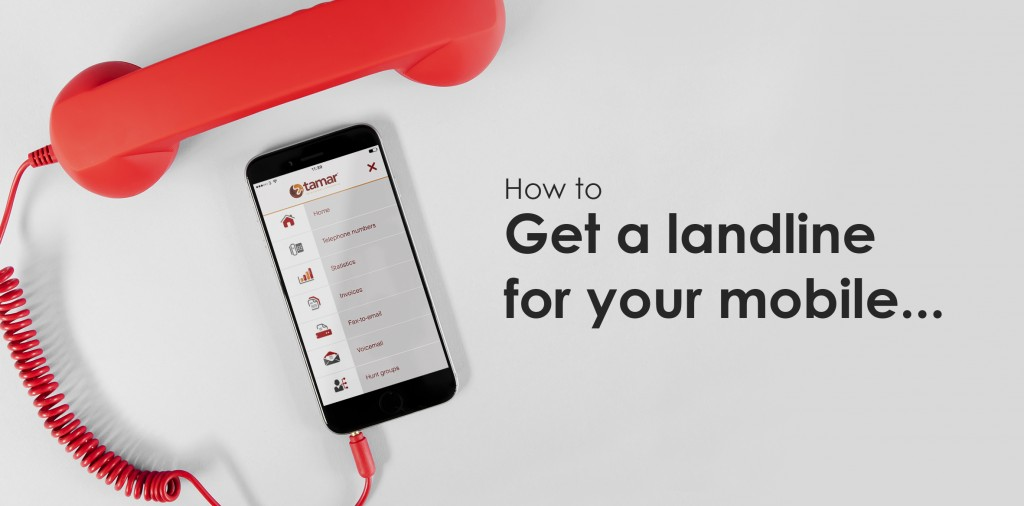 how to get a landline for your mobile