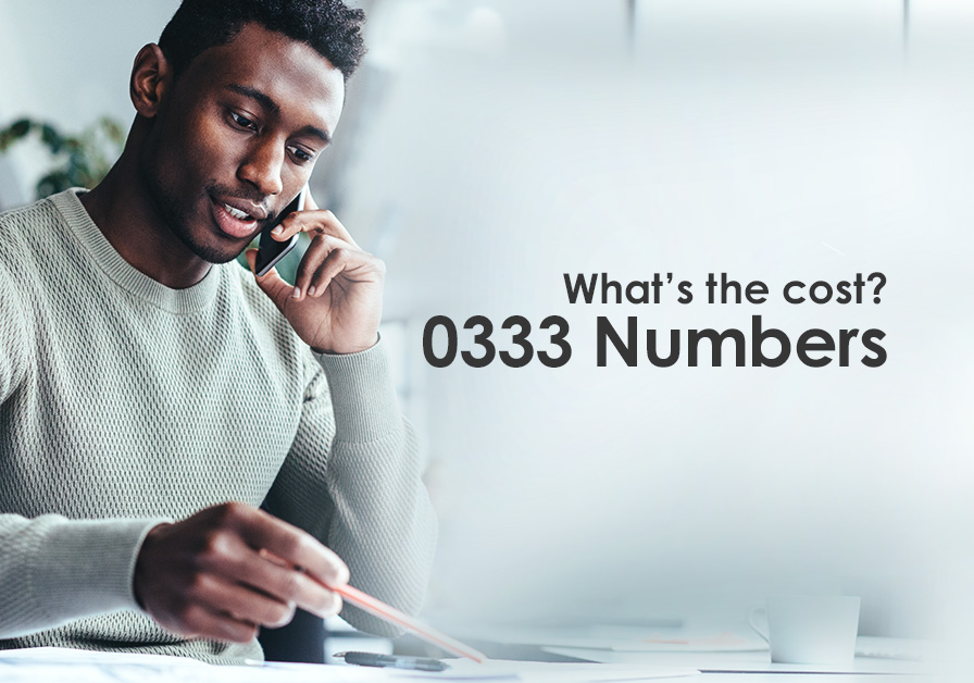 Cost to call 0333