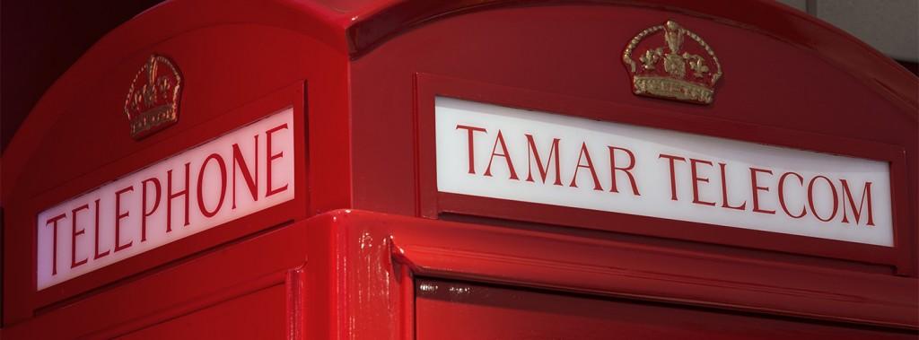 Tamar Telecom Phone Box