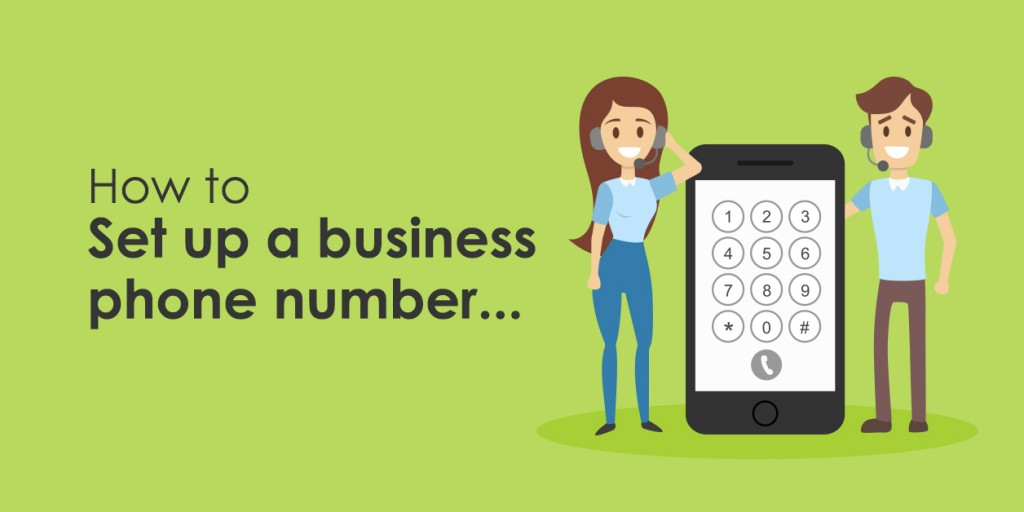 How do I set up a business phone number?