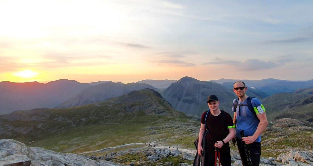 Dan & Phil 3 peak challenge