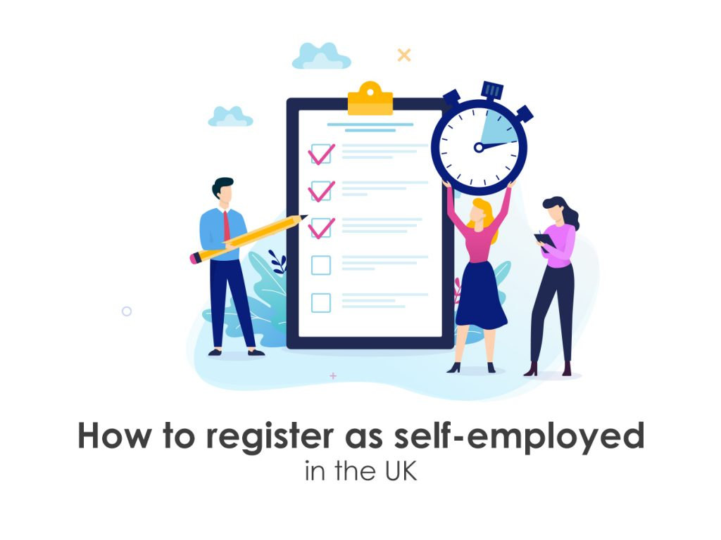 Register as self employed