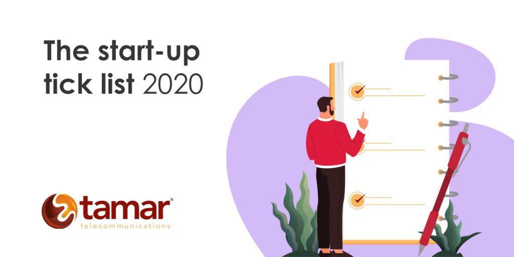 The Start-up Tick-list 2020