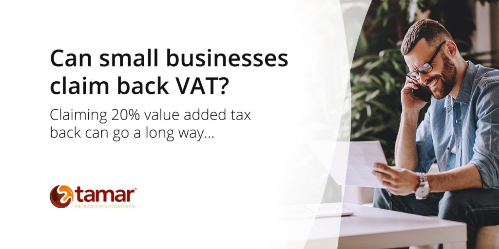 Can small businesses claim back VAT