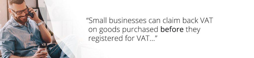 Small business VAT - Tamar Telecom