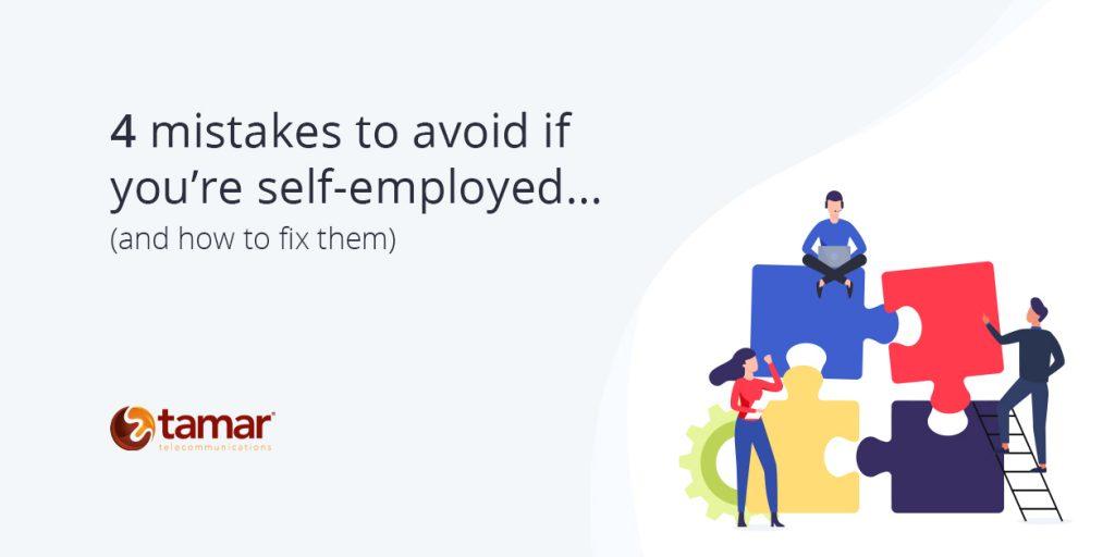 Self-employed Tips - Tamar Telecom
