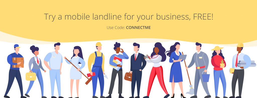 Get a landline for your mobile, try it FREE