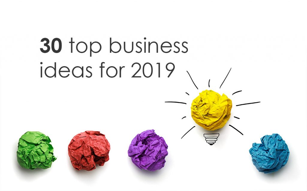 30 business ideas