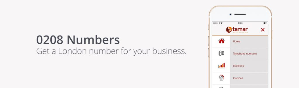 0208 Numbers - London Phone Numbers - Tamar Telecommunications